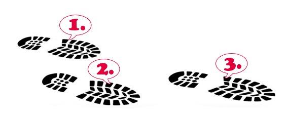 3 Schritte